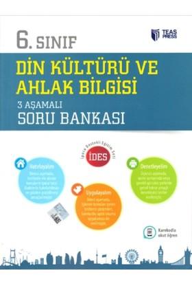 Teas Press-Sınav Yayınları 6. Sınıf Din Kültürü Ve Ahlak Bilgisi 3 Aşamalı Soru Bankası