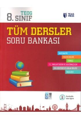 Teas Press-Sınav Yayınları 8. Sınıf Teog Tüm Dersler Soru Bankası