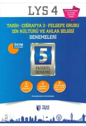 Teas Press-Sınav Yayınları Lys 4 Tarih Coğrafya 2 Felsefe Grubu Din Kültürü Ve Ahlak Bilgisi