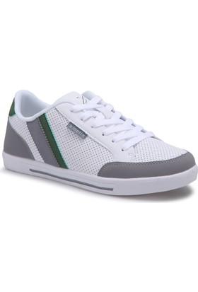 Kinetix Sette Beyaz Yeşil Gri Erkek Sneaker Ayakkabı
