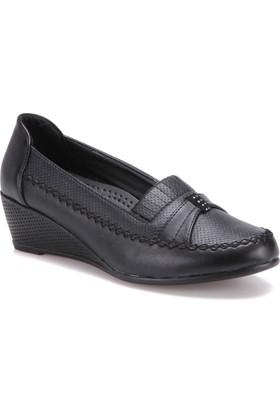 Polaris 71.154825.Z Siyah Kadın Ayakkabı