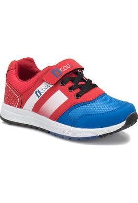 I Cool Enough Saks Kırmızı Erkek Çocuk Sneaker Ayakkabı