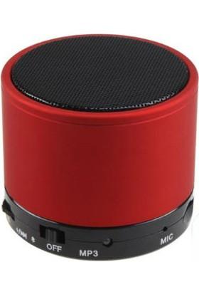 Toptancı Kapında Mini Bluetooth Hoparlör - Kırmızı