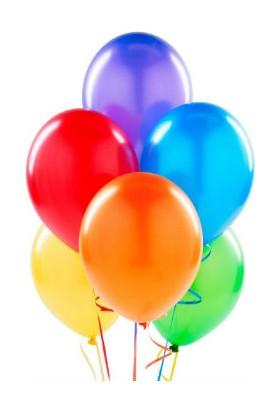 Toptancı Kapında Renkli Balon – 25 Adet