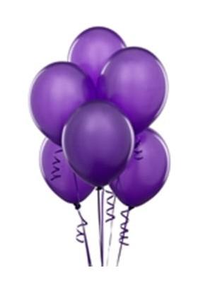 Toptancı Kapında Balon 100 Adet - Mor