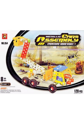 Toptancı Kapında 120 Parça Metal Lego Vinç - V44
