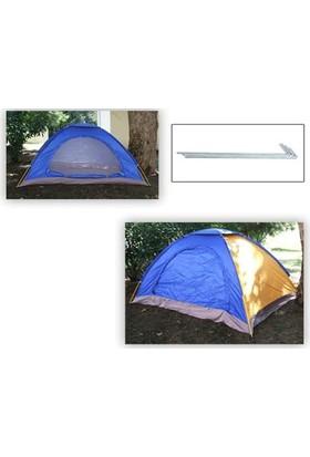 Toptancı Kapında 4 Kişilik Kolay Kurulumlu Kamp Çadırı