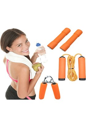 Toptancı Kapında Aile Fitness Seti (4 Parça)
