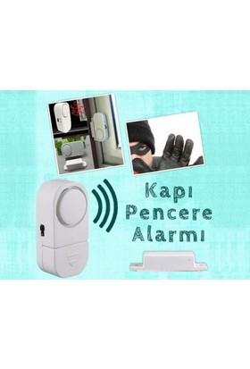 Toptancı Kapında Kapı Pencere Alarmı (2 Adet)