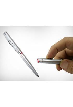 Toptancı Kapında Lazerli ve Led Işıklı Tükenmez Kalem