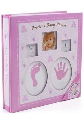 Toptancı Kapında Yeni Doğan Bebek Albümü (120 Fotograflık) - Pembe