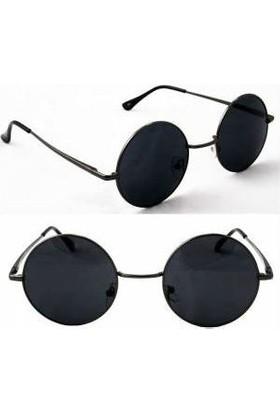 Toptancı Kapında Lennon Gözlük - Siyah