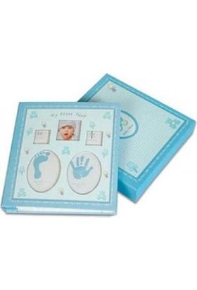 Toptancı Kapında Yeni Doğan Bebek Albümü (120 Fotoğraflık) - Mavi