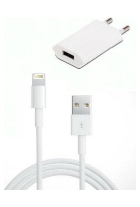 Rowen iPhone 7/7Plus 6/6S 6 Plus 5/5S Seyahat Şarj Seti - SR-50