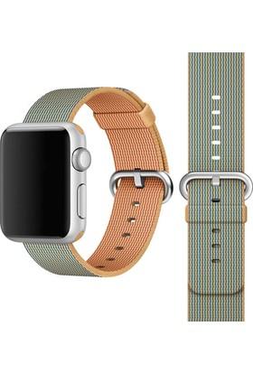 Alaca Apple Watch 42Mm İp Orme Kordon 42 Mm Kayıs
