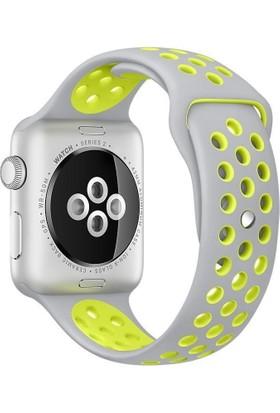 Alaca Apple Watch 2 42Mm Silikon Sport Kordon 42 Mm Kayıs Watch 2