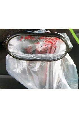 Toptancı Kapında Araç İçi Çöp Torba Aparatı