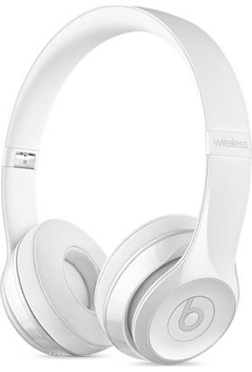 Beats Solo3 Wireless On-Ear Headphones - Gloss White Kulaklık MNEP2ZE/A