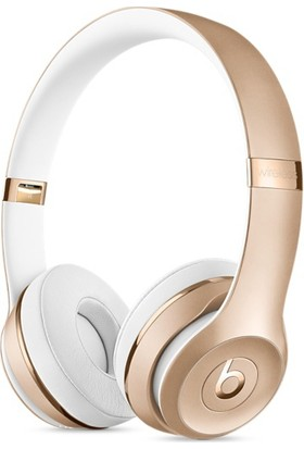 Beats Solo3 Wireless On-Ear Headphones Gold Kulaklık MNER2ZE/A