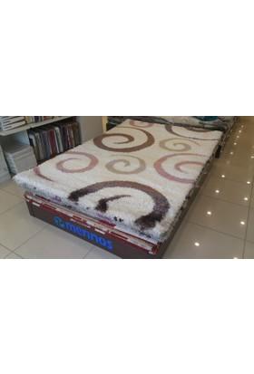 Dinarsu Alesta Shaggy 6717-60 160X230 Cm Salon Halısı
