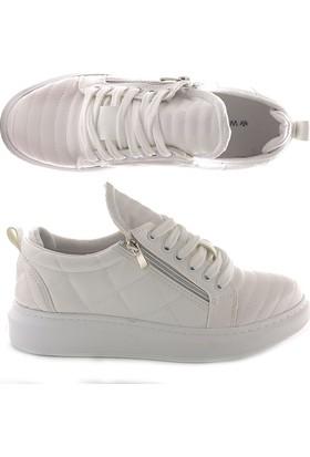 Pause 300-001 Flat Kalın Taban Ayakkabı