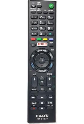 Sony 3D Smart Led Tv Kumanda Netflıx Tuşlu Rm-L1275
