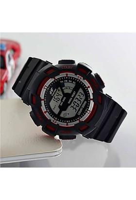 Startime 686514909154 Dijital Erkek Çocuk Kol Saati Kırmızı