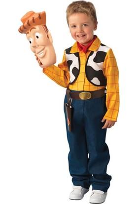 Rubies Toy Story Woody Kostüm Lüks 3 - 4 Yaş