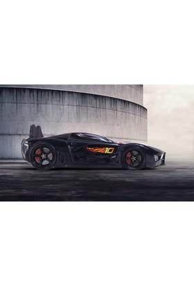 FastBack Araba Yatak Döşemeli Siyah