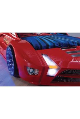 FastBack Araba Yatak Full Kırmızı