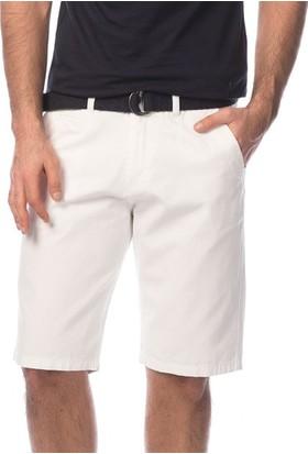 Slazenger Curro Erkek Şort Beyaz