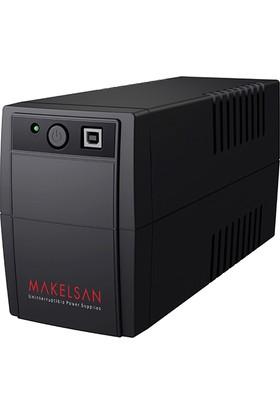Makelsan Lıon Plus 850 Va Line Interactive 1X12 V 9 Ah
