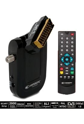 Kamosonic Ks-Sr 223 Biss+Şiffreli Kanal Destekli Uydu Alıcısı