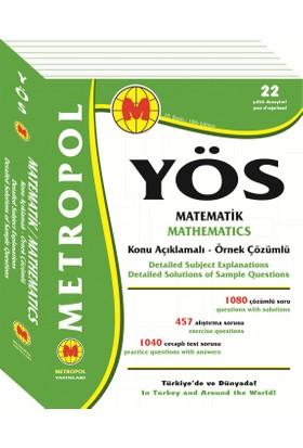 Metropol YÖS Matematik Tüm Konular Konu Anlatımlı Örnek Çözümlü
