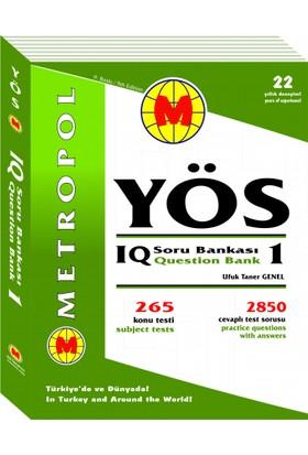 Metropol Yayınları YÖS IQ Soru Bankası 1 Yeni
