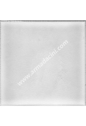 Armada Çini Pd 135 10X10 Krakle Beyaz İznik Porselen Çini Karo