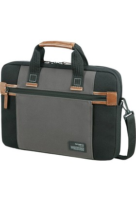 "Samsonite Sideways Sleeve 15.6"" Siyah/Gri Notebook Çantası 22N-19-003"