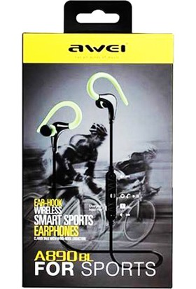 Awei Sport Stereo Bluetooth Kulaklık A890BL - Yeşil