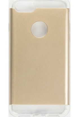 My Monkey IPH6-09GLD / iPhone 6 Dual Layer Plastic Back Cover Phone Case / Gold Clear Color