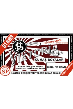 Viktoria Kumaş Boyası Koyu Kahve
