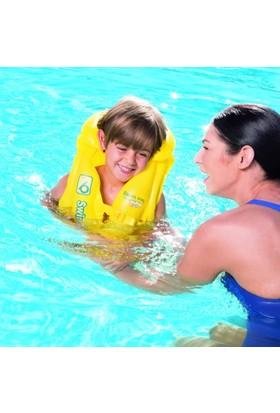 Bestway Swim Safe Step B Bestway 32034 Şişme Can Yeleği 3-6 Yaş 51 Cm