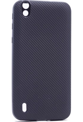 Case 4U Vestel Venüs V3 5000 Karbon Silikon Kılıf Siyah