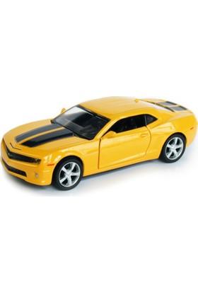 Msz Chevrolet Camaro Ss Metal Araba Diecast 1:38 Scale Sarı