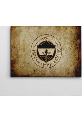Dekolata Fenerbahçe Logo Kanvas Tablo