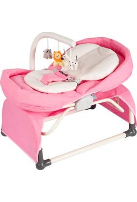 Vauva Pronto Sallanır Ev Tipi Ana Kucağı - Pembe