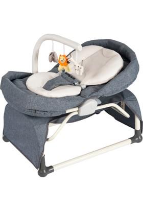 Vauva Pronto Sallanır Ev Tipi Ana Kucağı - Füme