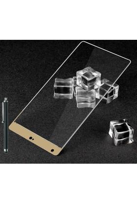CoverZone Xiaomi Mi Mix Full Kaplayan 3d Tempered Koruyucu + Dokunmatik Kalem