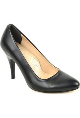 Ebrucan Zn 165 Cilt Deri Stiletto Bayan Ayakkabı