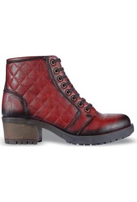 M.P 0339 Hakiki Deri Kız Çocuk Bot Ayakkabı