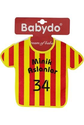 Babydo Formalı Taraftar Önlük Sarı Kırmızı